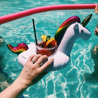 Inspire Uplift Cup Holders Unicorn Cute Pool/Beach Cup Holders