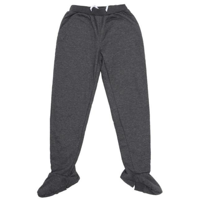 Inspire Uplift Dark Gray / M / China Thermal Pants with Built-In Socks
