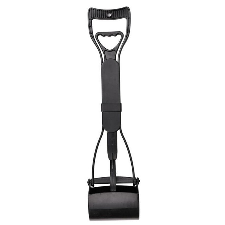 Inspire Uplift Dog Long-Handle Pooper Scooper Black Dog Long-Handle Pooper Scooper