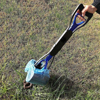 Inspire Uplift Dog Long-Handle Pooper Scooper Blue Dog Long-Handle Pooper Scooper