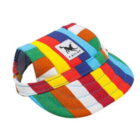 Inspire Uplift dogs Rainbow Stripes / S Custom Made Machiko Dog Hats... ADORABLE!