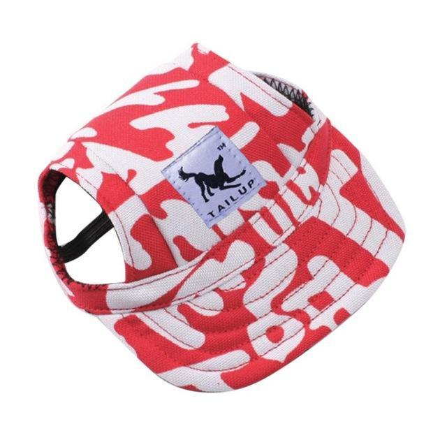 Inspire Uplift dogs Red Letters / S Custom Made Machiko Dog Hats... ADORABLE!