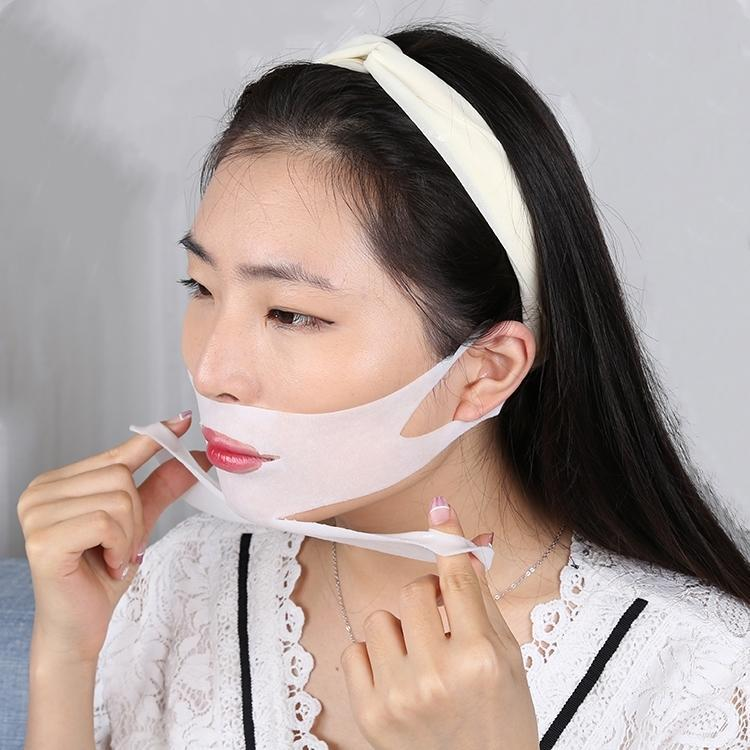 Inspire Uplift Double Chin Lifting Treatment V-Line Mask 4-Sheets