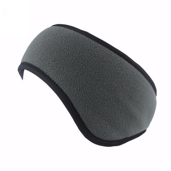 Inspire Uplift Ear Warmer Headband Gray Ear Warmer Headband