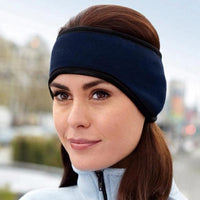 Inspire Uplift Ear Warmer Headband Navy Ear Warmer Headband
