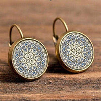Inspire Uplift Earrings Moroccan Bohemian Glass Earrings