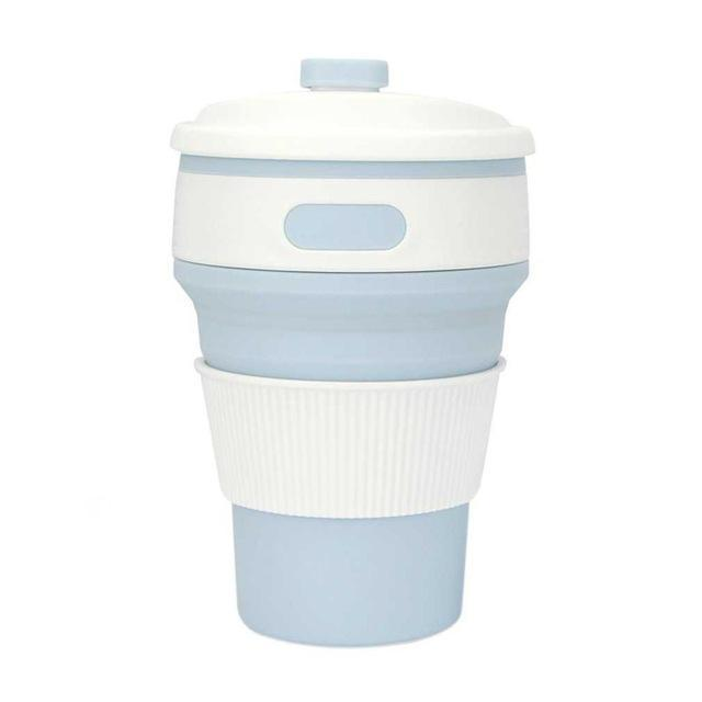 Inspire Uplift Eco Collapsible Cup Baby Blue Eco Collapsible Cup