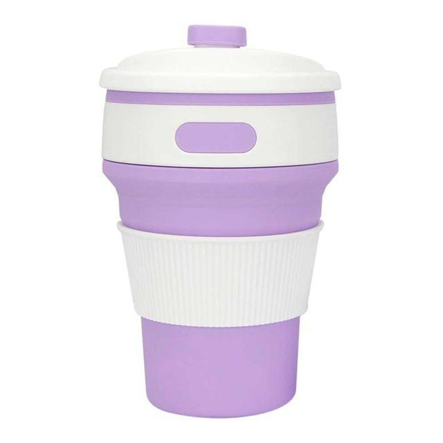 Inspire Uplift Eco Collapsible Cup Lilac Eco Collapsible Cup
