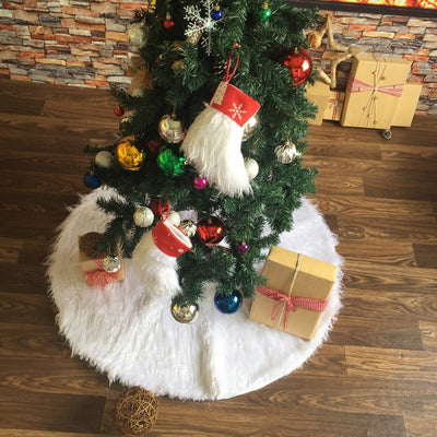 Inspire Uplift Faux Fur Christmas Tree