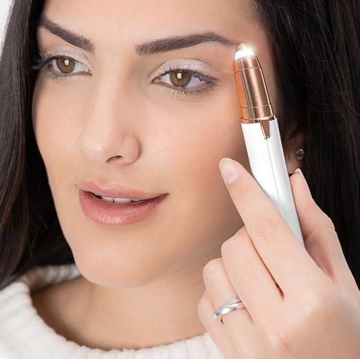 Inspire Uplift Flawless Brows Electric Hair Remover Gold Perfect Brows Precision Hair Remover