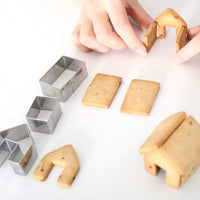 Inspire Uplift Gingerbread House Cookie Cutter Set Gingerbread House Cookie Cutter Set