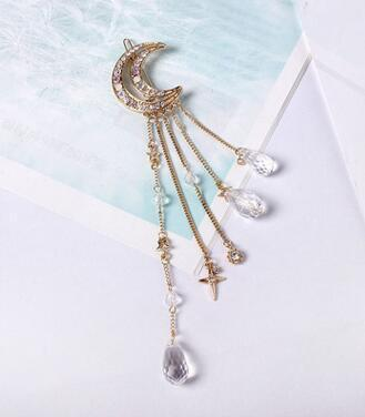 Inspire Uplift Gold Moonchild Hair Pin
