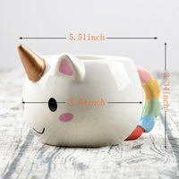 Inspire Uplift Gold Unicorn Mug Gold Unicorn Mug