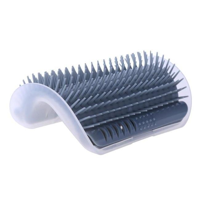 Inspire Uplift Gray / one size Cat Self Groomer Brush
