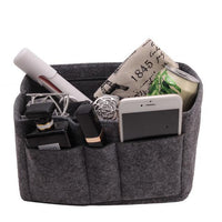 Inspire Uplift Gray / Small Multi-Pocket Handbag Organizer