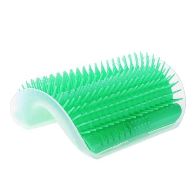 Inspire Uplift Green Cat Self Groomer Brush