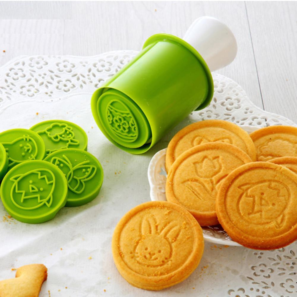 Inspire Uplift Green Cookie Cutter & Stamper Mold