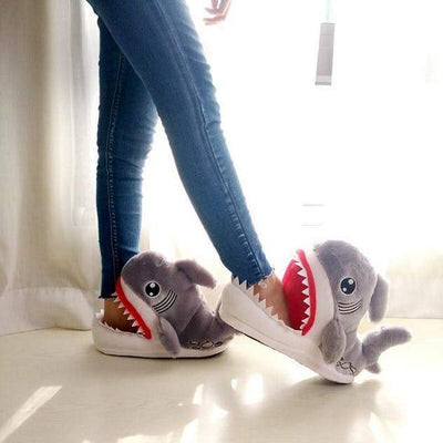 Inspire Uplift Grey / 5.5 Shark Slippers