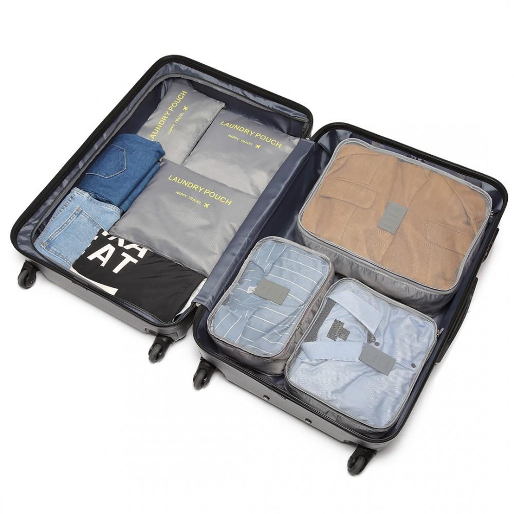 Inspire Uplift grey Travel Packing Organizer Set