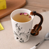 Inspire Uplift Home & Kitchen Novelty Guitar Ceramic Mug