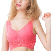 Inspire Uplift L / XXXL / China Seamless Lace Wireless Lift Bra
