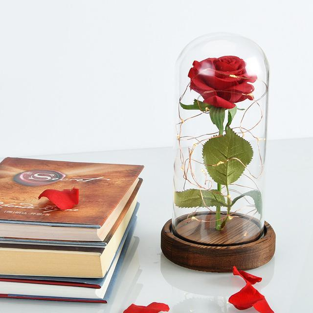 Inspire Uplift Lamp Expresso Rose Flower Lamp