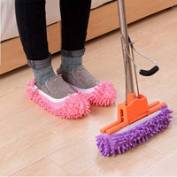 Inspire Uplift Lazy Slippers Pink Lazy Mop Slippers