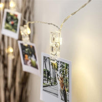 Inspire Uplift Lights Candle Photo String Lights