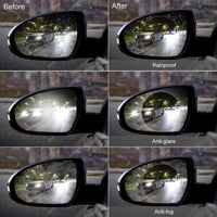 Inspire Uplift Magic Mirror Anti-fog Shield For Rear View Mirror 2Pack Magic Mirror Anti-fog Shield For Rear View Mirror 2Pack
