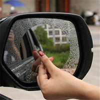 Inspire Uplift Magic Mirror Anti-fog Shield For Rear View Mirror 2Pack Round 2-Pack Magic Mirror Anti-fog Shield For Rearview Mirror 2Pack
