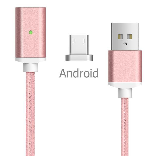 Inspire Uplift Magnetic Charger Cable Android-Pink / 1m Magnetic Charger Cable