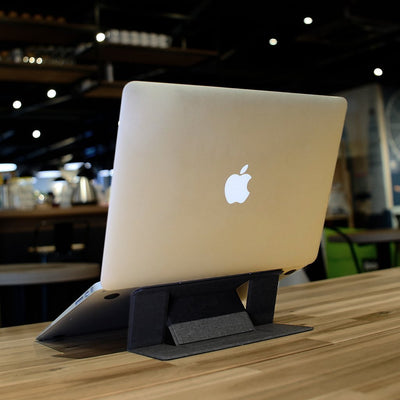 Inspire Uplift Modern Portable Laptop Stand Black Modern Portable Laptop Stand