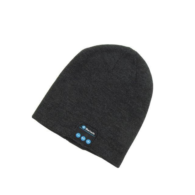 Inspire Uplift Music Bluetooth Beanie Charcoal Music Bluetooth Beanie