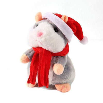 Inspire Uplift My Talking Pet Hamster Gray-Christmas Limited Edition My Talking Pet Hamster