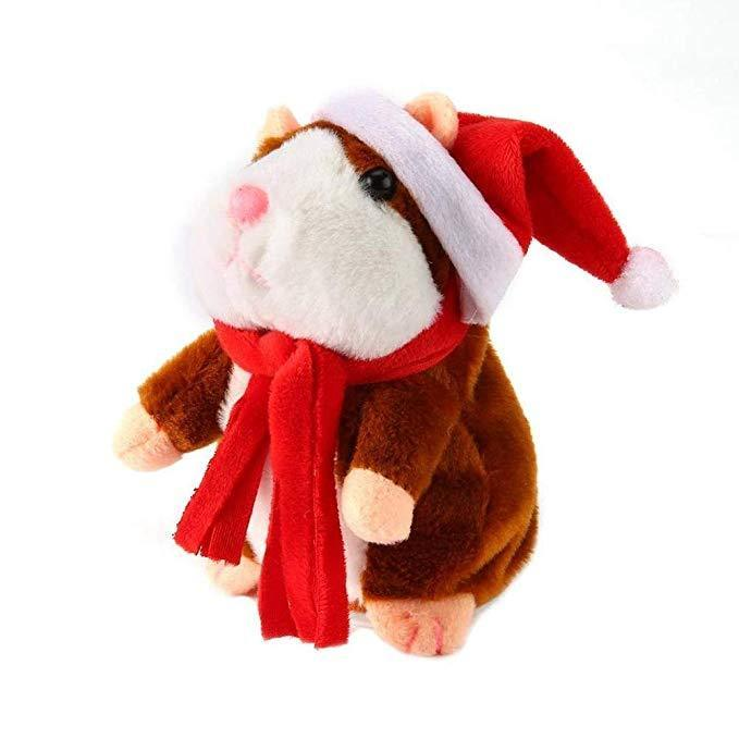 Inspire Uplift My Talking Pet Hamster Red-Christmas Limited Edition My Talking Pet Hamster