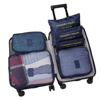 Inspire Uplift navy Travel Packing Organizer Set