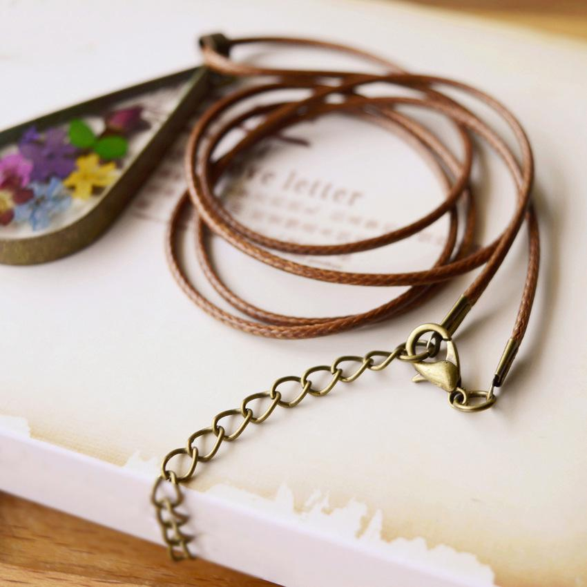 Inspire Uplift Necklace Terrarium Bronze Necklace