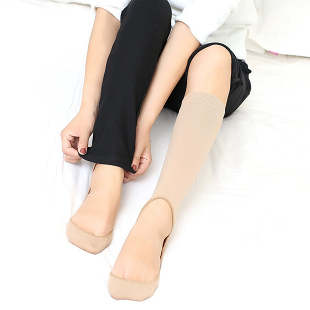 Inspire Uplift Open Toe Compression Socks