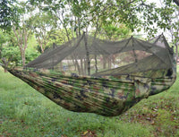Inspire Uplift Others & Gifts Camouflage Treehouse Mosquito Net Hammock