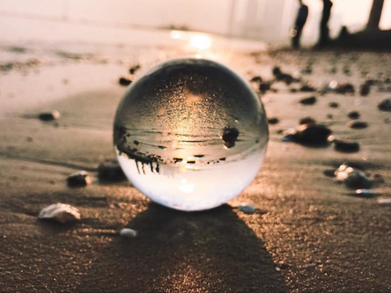 Inspire Uplift Others & Gifts CRYSTAL BALL LENS PHOTOGRAPHY SPHERE