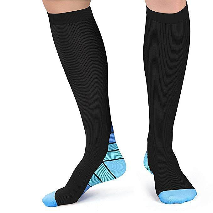 Inspire Uplift Perfect Fit Compression Socks Blue / L/XL (50-52) Perfect Fit Compression Socks