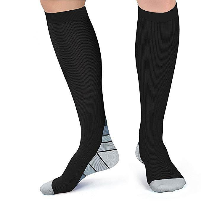 Inspire Uplift Perfect Fit Compression Socks Gray / S/M (42-44) Perfect Fit Compression Socks