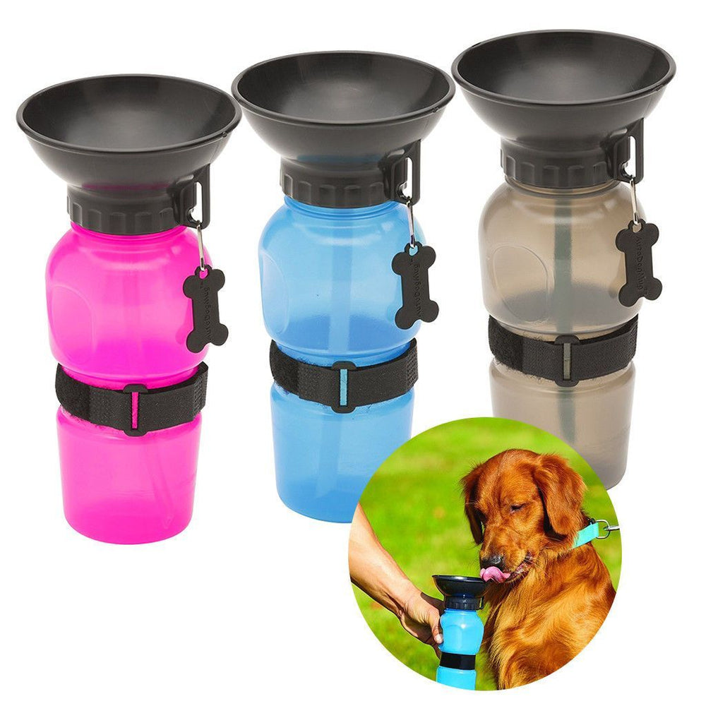 Inspire Uplift Pets Aqua Dog Portable Drinking Water Bottle
