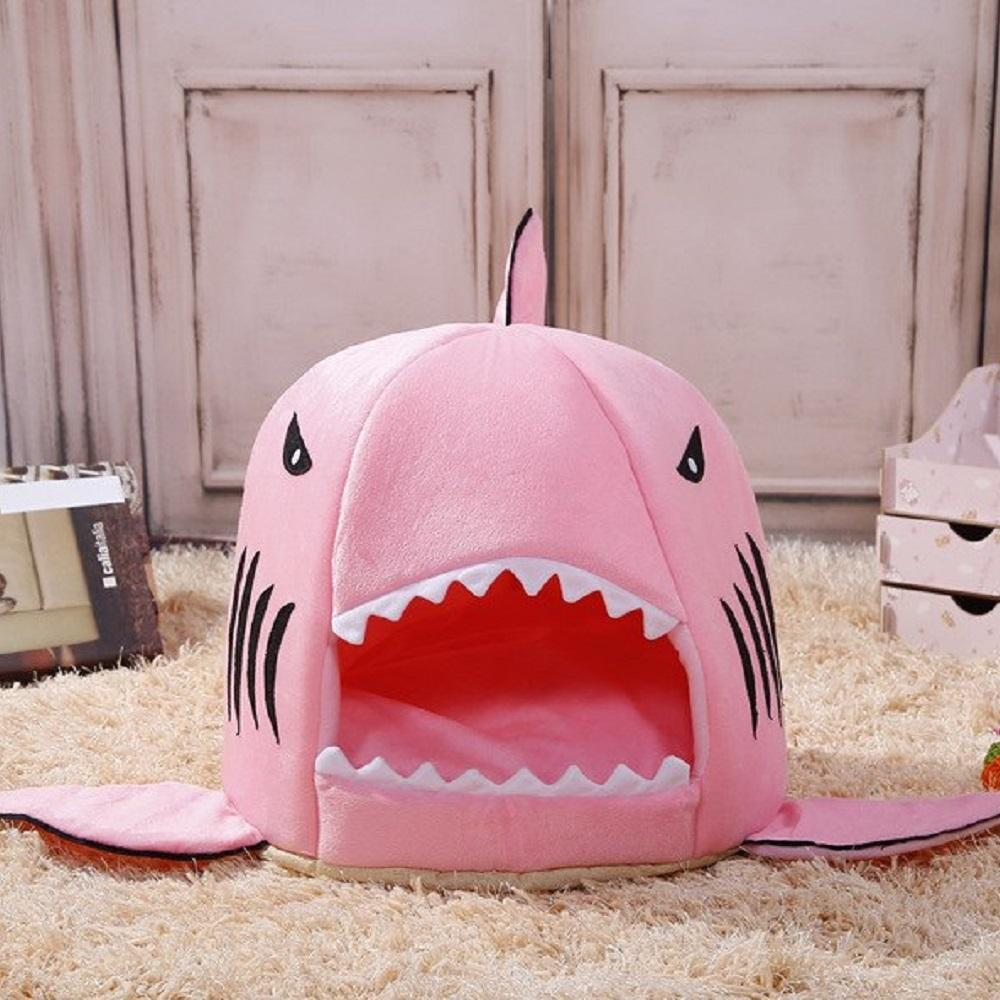 Inspire Uplift Pets S / Pink Best Selling Shark Pet Bed