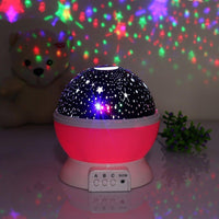 Inspire Uplift Pink Space Projector Lamp