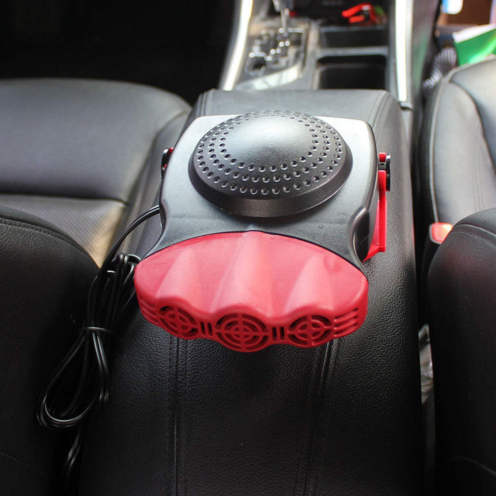 Inspire Uplift Portable Car Heater & Defroster With Fan Red Portable Car Heater & Defroster With Fan