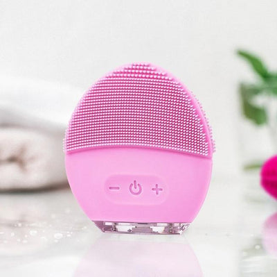 Inspire Uplift Rechargeable Silicone Facial Cleaner Light Pink Rechargeable Silicone Facial Cleaner