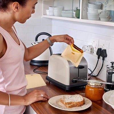 Inspire Uplift Reusable Non-stick Toaster Bags Reusable Non-stick Toaster Bags