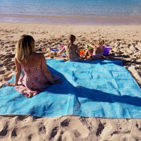 Inspire Uplift Sand-Proof Beach Mat Blue Sand-Proof Beach Mat