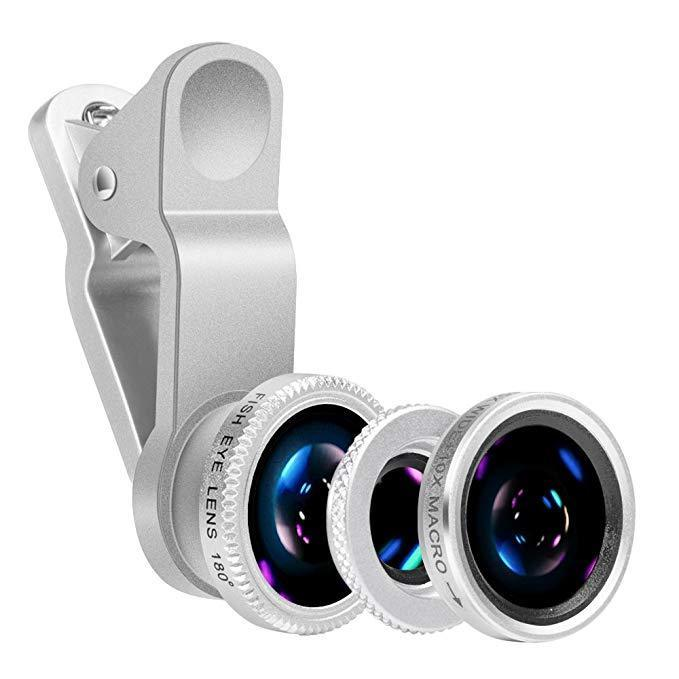 Inspire Uplift Set of Phone Lenses Silver Set of Phone Lenses